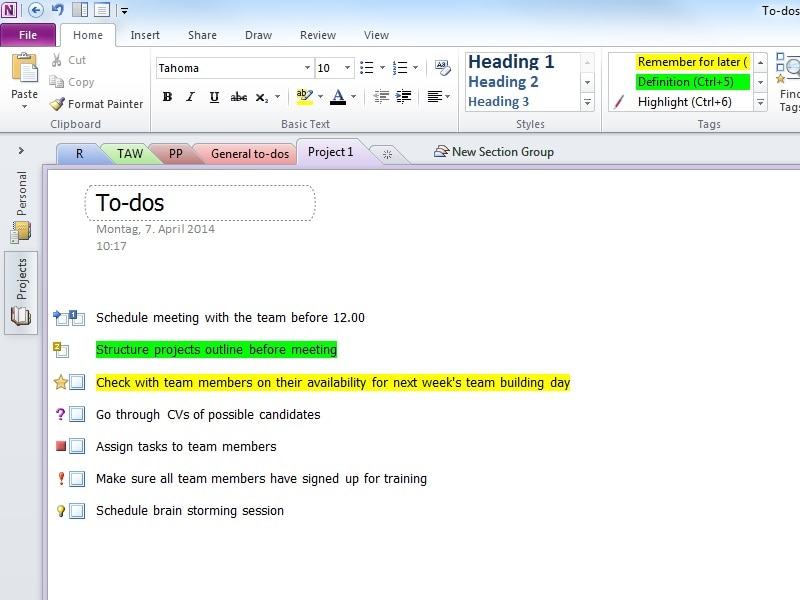 5 Microsoft OneNote tips | HP® Official Site