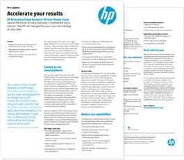 HP Helion Managed Virtual Private Cloud
