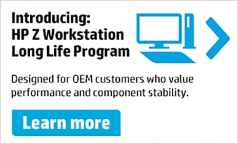 Introducing: HP Z Workstation Long Life Program