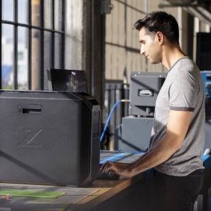 HP Z in production