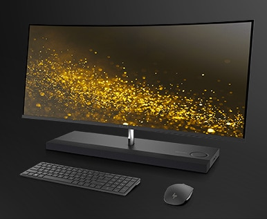 Introducing the new HP ENVY Curved All-in-One