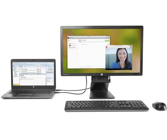 HP EliteDisplay S231d 23-in IPS Notebook Docking Monitor Image 1
