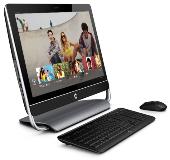 HP ENVY 23 TouchSmart - the powerful All-in-One designed for Windows 8