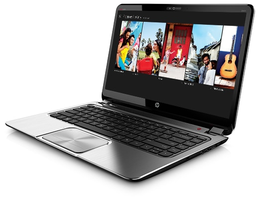 HP ENVY TouchSmart Ultrabooks run on Windows 8