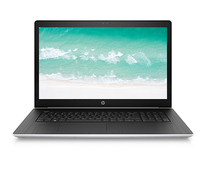 ProBook 470 G5 front-facing view