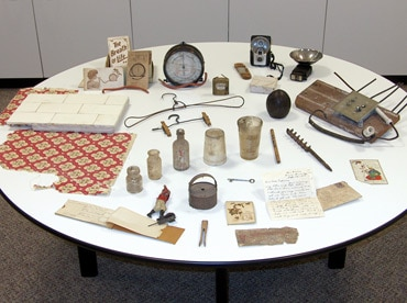 full table of objects