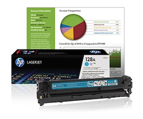 Original HP toner cartridges for LaserJet printers