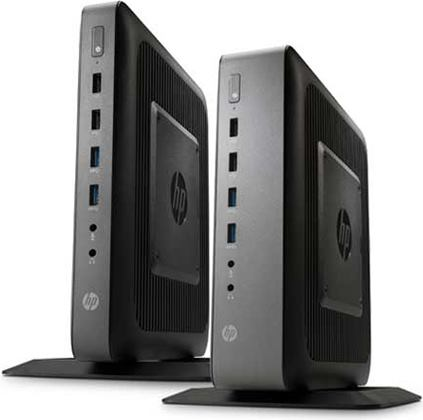 Two HP t620 Thin Client Business Desktops