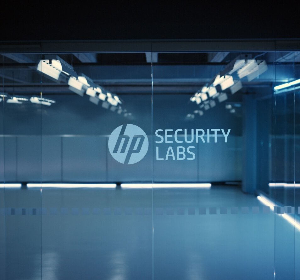 hp printer security