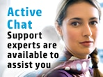 Active Chat support experts are available to assist you