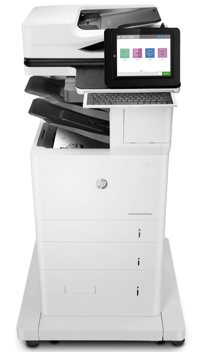 Meet the HP LaserJet Enterprise 600 series Flow MFPs