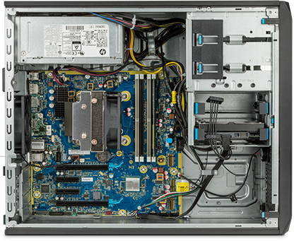 What is inside the HP Z2 Tower workstation