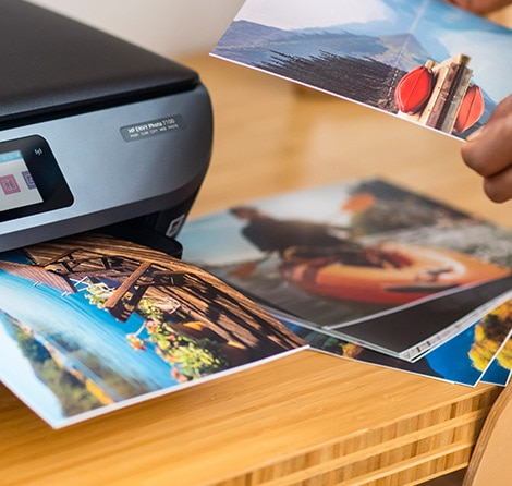 quality prints with HP paper