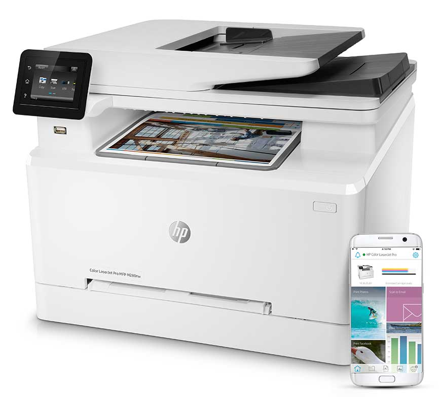 Meet the HP Color LaserJet Pro 200 series MFP