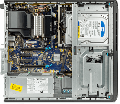 What's inside the HP Z2 Small Form Factor