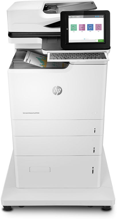 Vi introducerer Flow-MFP'erne i HP LaserJet Enterprise 600-serien