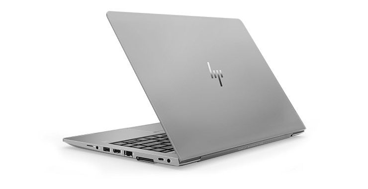HP ZBook 15u back view