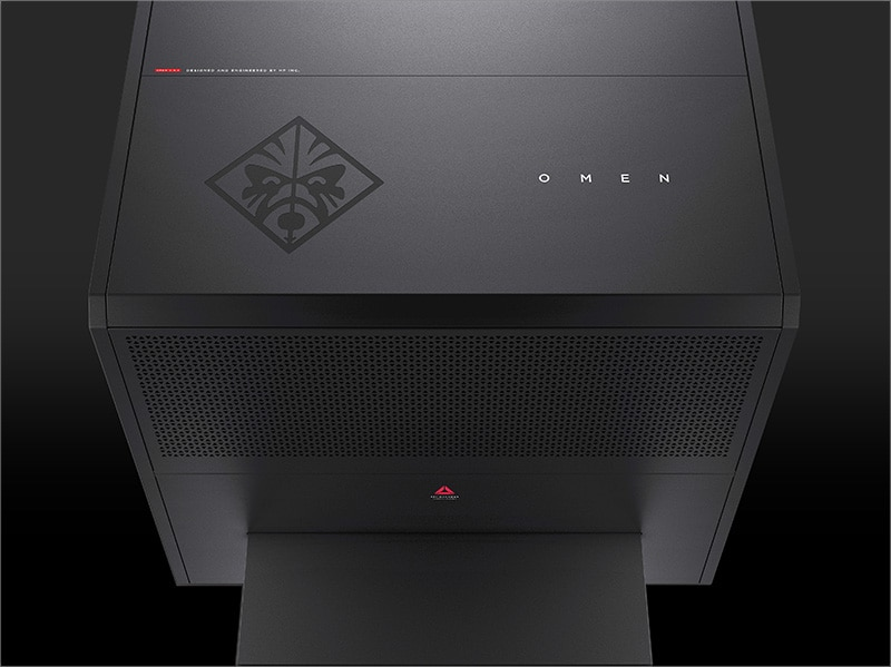 HP OMEN Gaming Desktop front view