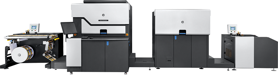 HP Indigo WS6800p Digital Press—a simplex web solution enabling high-quality applications such as book covers, lay-flat photo books, cut-sheet photo products, and more