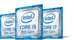 Intel Core i7 8th Gen logo