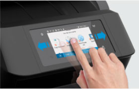 OfficeJet Printer Color TouchScreen