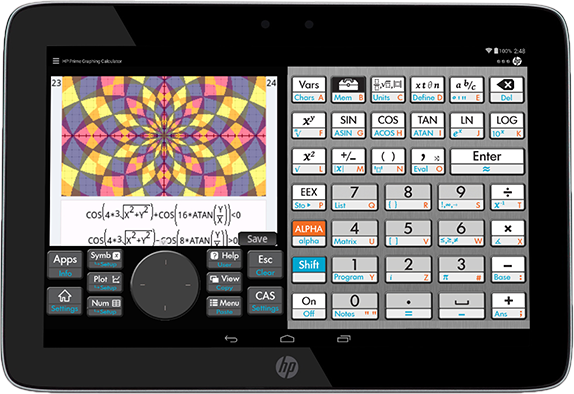 Prime Graphing Calculator App | HP® Official Site