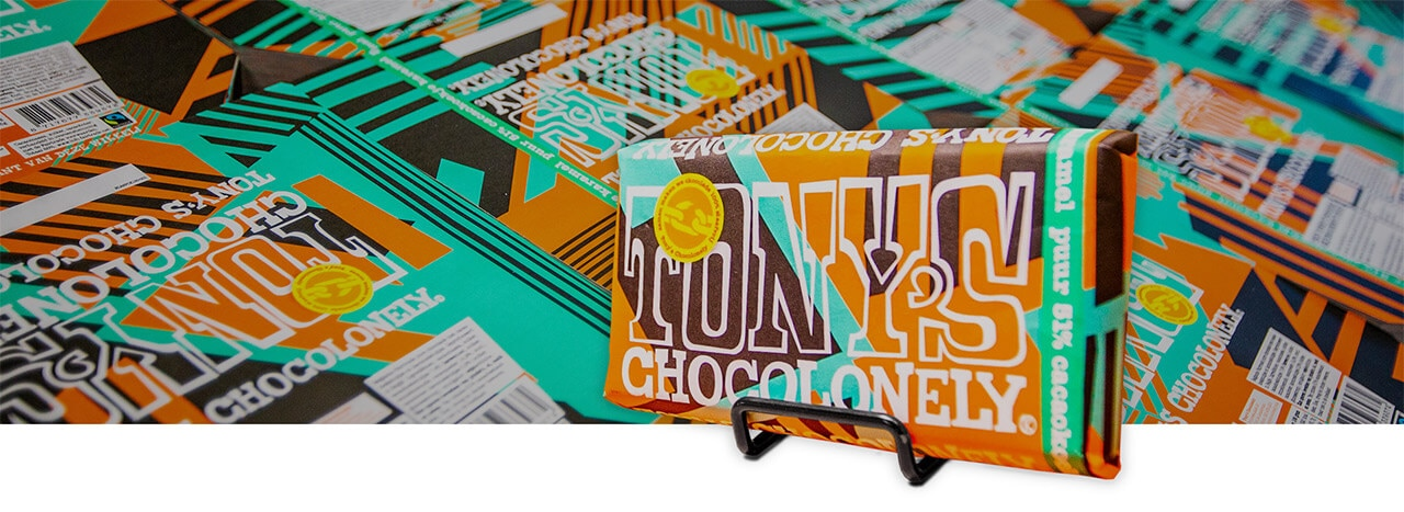 Chocolate bars wrapped in 500,000 packaging design variations