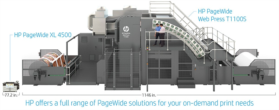 HP PageWide Web Press T1100S transforms high-quality corrugated printing
