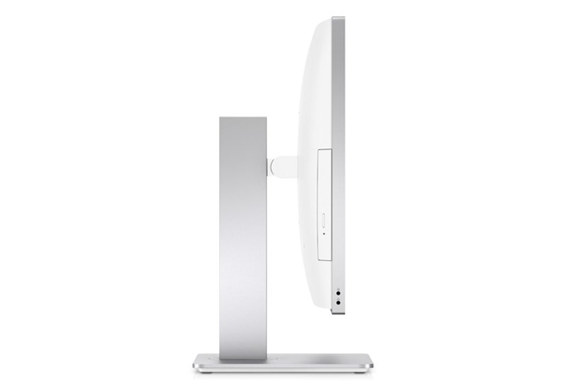 HP EliteOne 800 AiO angled side view