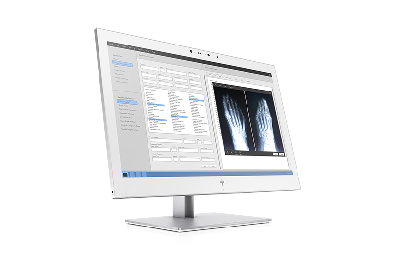 Right facing HP HC270cr Display with foot x-ray