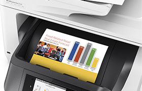 OfficeJet Printer Single Pass Automatic Document Feeder