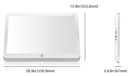 HP Slate Dimensions and Weight