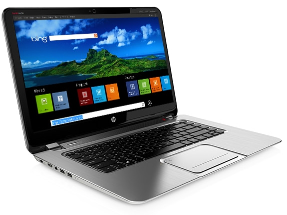 HP Spectre XT TouchSmart touchscreen Ultrabook  runs on Windows 8 operating system