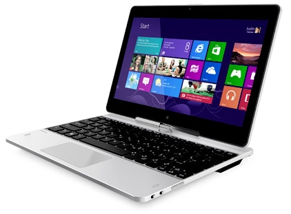 HP EliteBook Revolve notebook has a 11.6 inch HD display
