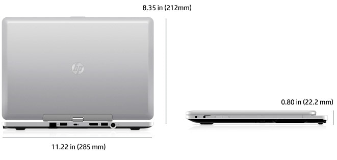 HP EliteBook Revolve notebook is ultra thin and lightweight for business mobility