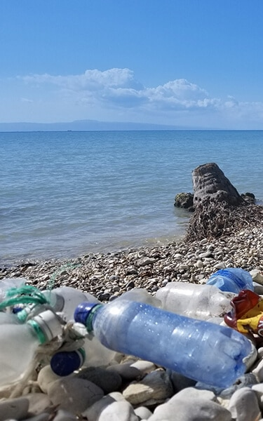 Keeping plastics out of our oceans