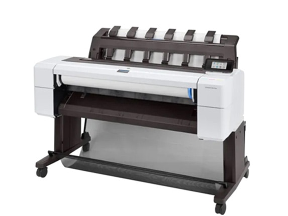 "HP DesignJet T1600 Large Format PostScript® Printer - 36"", with Best-in-Class Security Features (3EK11A/3EK11F)"