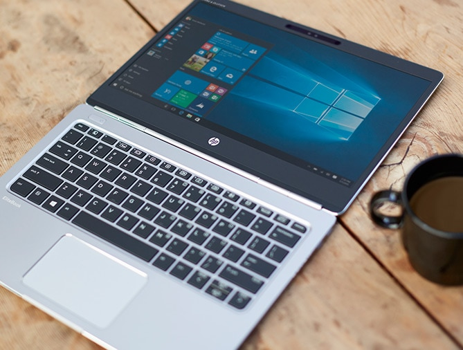 HP EliteBook Folio - use your face as your password to unlock
