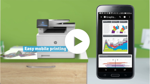 Video - Save Time, Money and Space with HP LaserJet Printers