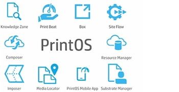 Learn about the features of HP PrintOS