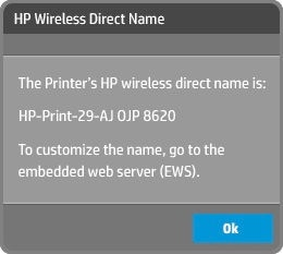 Connect to the printer
