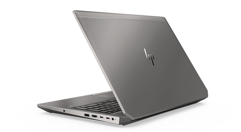 HP ZBook 15 back left view
