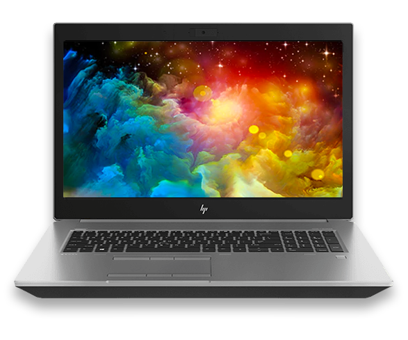 HP ZBook 17 G5 front left facing
