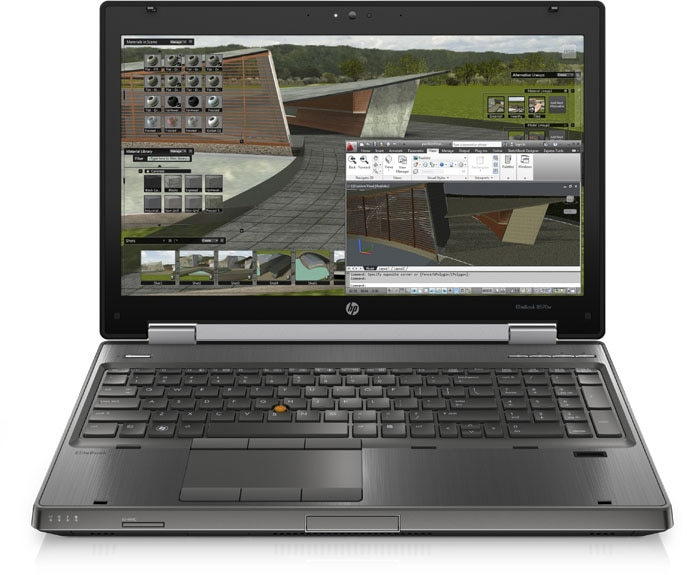 HP 8570w Mobile workstation image 1