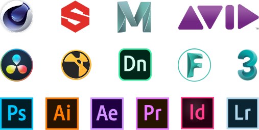 Software partners' icons