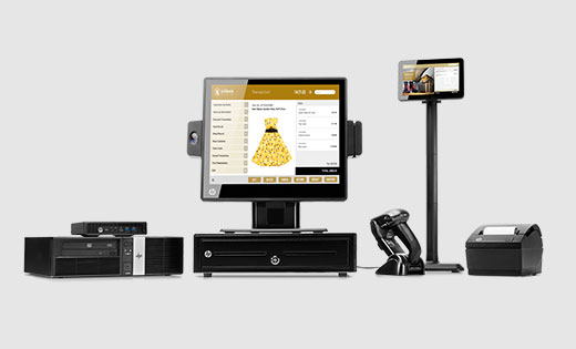 HP POS System with all customizable peripherals