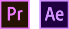 adobe premiere and after effects logos