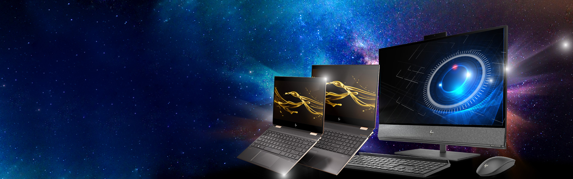 HP laptops and desktop all-in-one powered by Intel