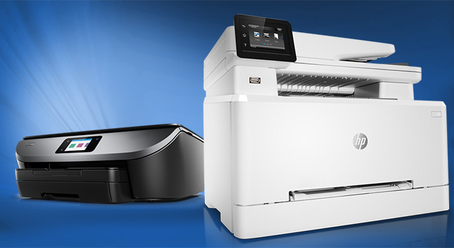 Two HP Printers Top-rated