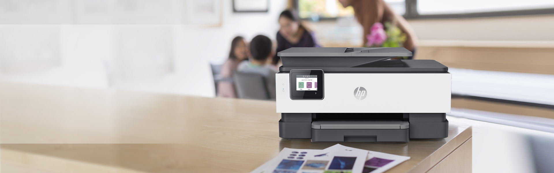 Ink Printer in a Home Office setting